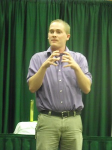 William Woods ASL interpreting program alum Harrison Jones