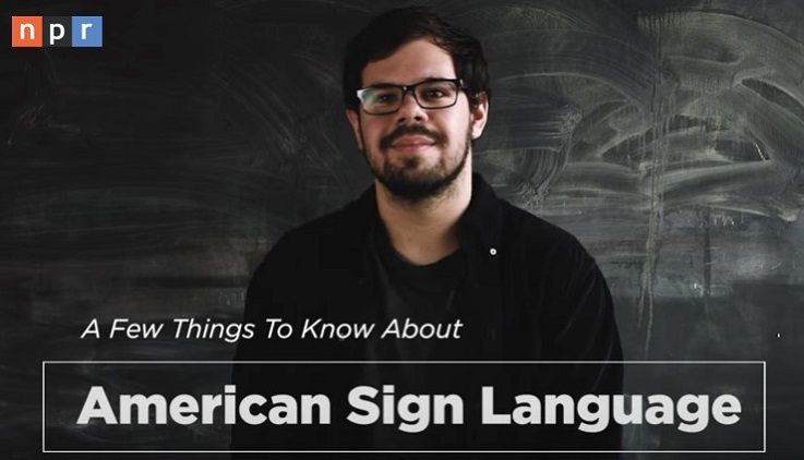 ASL interpreting students learn how to get the most out of their degree